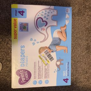 DIAPERS DIAPERS ! SIZE 3&4 for Sale in Kennesaw, GA