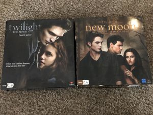 Twilight & New Moon board game for Sale in Riverside, CA