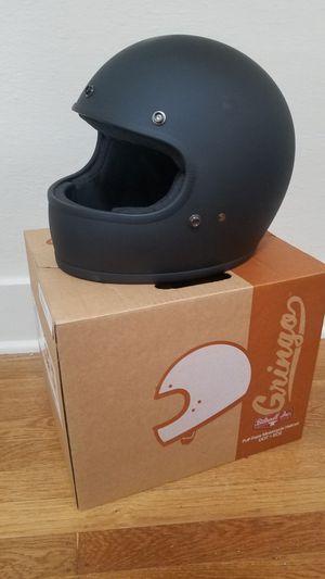 Biltwell Gringo Helmet DOT/ECE XL Matte black w/ extra cheek pads for Sale in Portland, OR