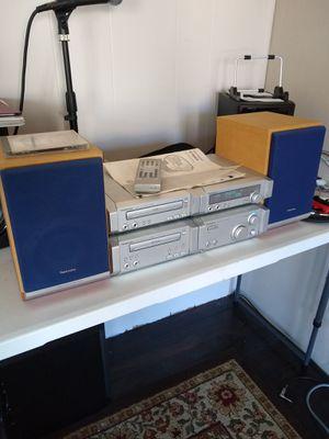 Technics micro component HiFi system Digital, AUX, CD, Cassette, tuner for Sale in Vista, CA