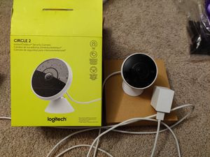Logitech Circle 2 Wired Home Security Camera Indoor/Outdoor Weatherproof for Sale in Medford, MA
