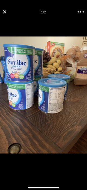 Similac advance 12$ for each 20 items for Sale in Alexandria, VA