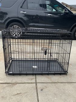Dog Crate with Night Cover for Sale in Los Gatos,  CA