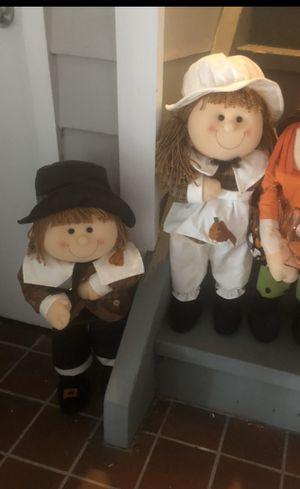 2 1/2 ft tall pilgrims for Sale in Secaucus, NJ