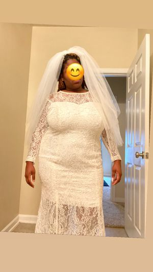 Wedding dress for Sale in Spring, TX