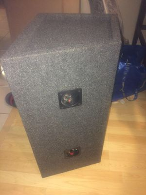 """10"""" subwoofer enclosure for Sale in Castro Valley, CA"""
