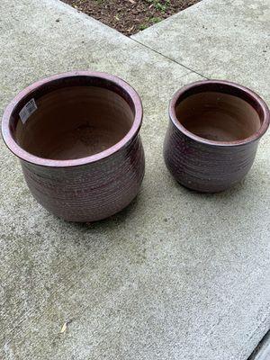 Flower pots for Sale in Norfolk, VA