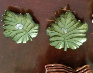 Two Arda Leaf Dish for Sale in Dayton, OH