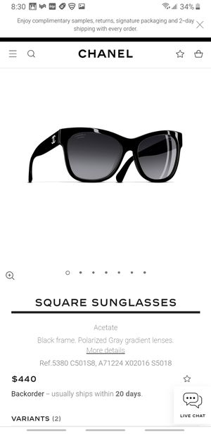 Chanel square shades for Sale in Washington, DC