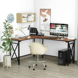 L Shaped Desk Office Desk for Sale in Las Vegas, NV
