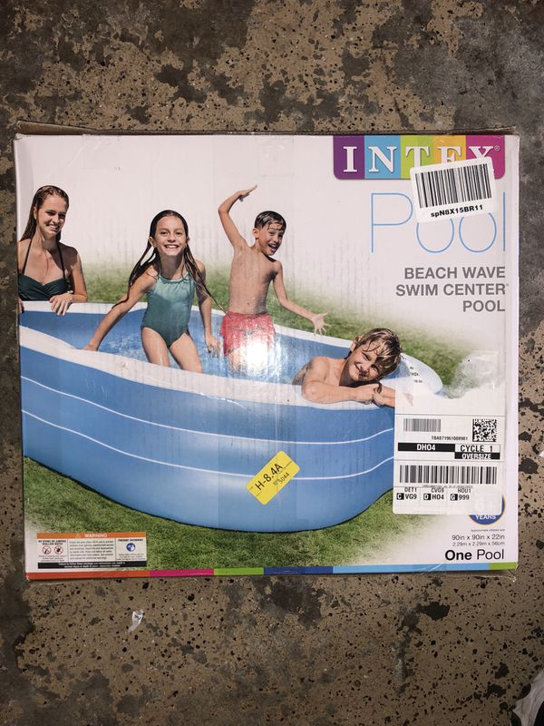 Intex Swim Center Pool **NEW**