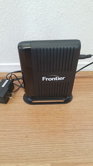 Frontier DSL modem for Sale in Rancho Cucamonga, CA