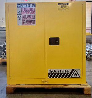 Justrite Flammable Storage Cabinet for Sale in Alpharetta, GA