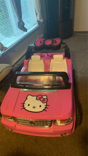 Hello kitty jeep for Sale in Tacoma, WA