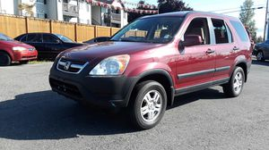 2003 Honda CRV 5dr SUV EX 4cyl. Auto Trans. Clean Title Xtra Clean for Sale in Lynnwood, WA