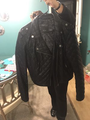 Like new areopastale motorcycle jacket for Sale in MD, US