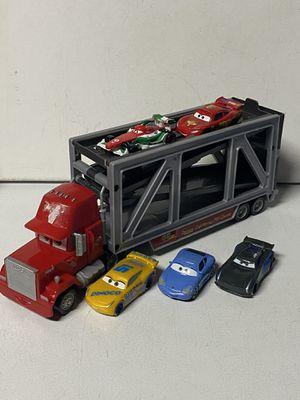 Disney Cars Mack Hauler & 5 Cars Lot for Sale in Kenmore, WA