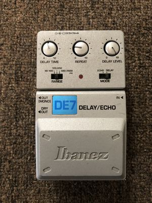 Ibanez DE 7 Guitar Delay Pedal for Sale in Compton, CA