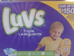 Luvs Pampers. Size 5. for Sale in Philadelphia, PA