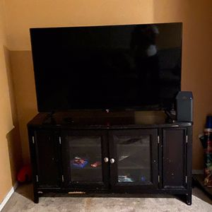 Tv And Stand If You Want TV Is 50in for Sale in Surprise, AZ