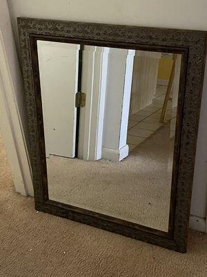 22 x 28 Gold framed Mirror for Sale in Sebring, FL