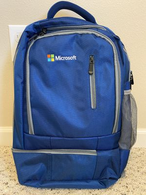Microsoft Work Laptop Backpack in Blue for Sale in Puyallup, WA