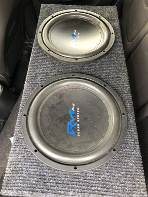 15' SUBWOOFER WITH BOX for Sale in Orlando, FL