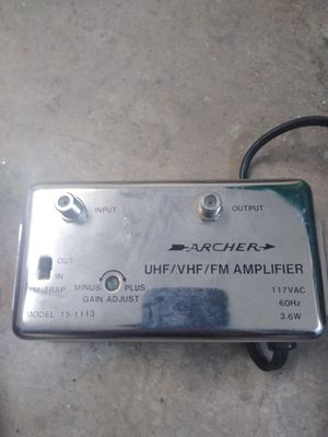 UHF/VHF/FM Amplifier for tv for Sale in Powell, TN