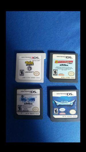 4 Nintendo games for Sale in Stanton, CA