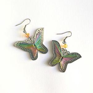 Butterfly Thread Drop Earrings for Sale in Los Angeles, CA