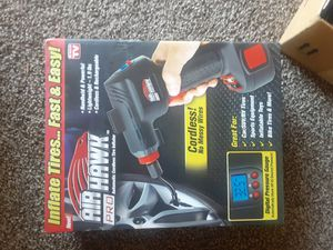 AIR HAWK AIR COMPRESSOR GUN ! Brand NEW ONLY took it out of the box too test it ! for Sale in Las Vegas, NV