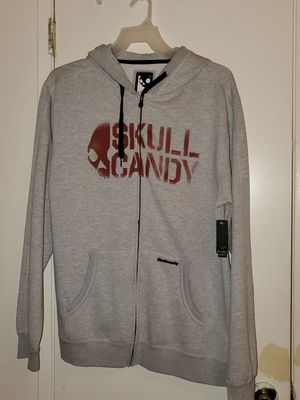NEW Skullcandy Zip Up Hoodie Mens sz XL for Sale in Bakersfield, CA