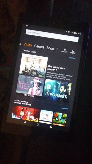 Amazon Kindle Fire 8 (7th Generation) Tablet for Sale in San Francisco, CA