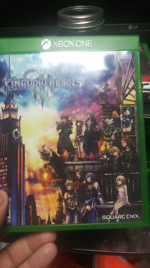 Kingdom hearts 3 for Sale in Meriden, CT