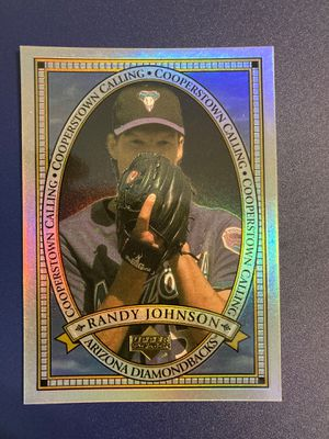 Randy Johnson baseball card for Sale in Castro Valley, CA