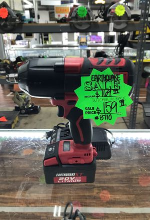 EARTHQUAKE Impact Wrench for Sale in Cedar Hill, TX