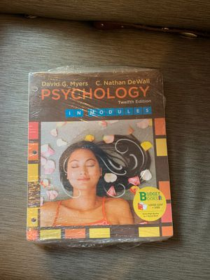 Psychology Twelfth Edition for Sale in E RNCHO DMNGZ, CA