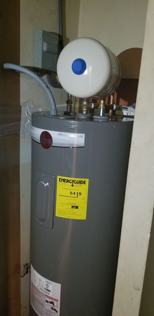 DEALS ON WATER HEATERS $1250 COMPLETE WITH EXPANSION TANK for Sale in Brookhaven, GA