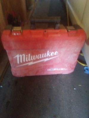 Milwaukee drill case No Drill included for Sale in Santa Ana, CA