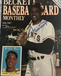 Beckett July 1987 issue # 29 Front Cover Willie Mays for Sale in Boston,  MA