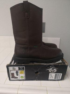 Georgia steel toe work boots size 10.5 for Sale in Riverside, CA