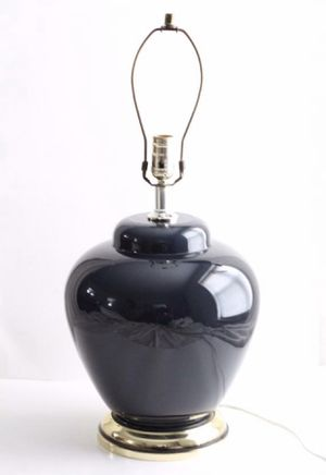 Vintage Alsy Glass Ginger Jar Table Lamp / Ceramic Glass Lamp for Sale in Oak Park, IL