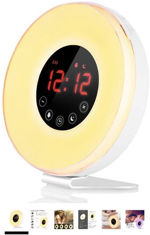 Sunrise simulating alarm clock for Sale in Nashville, TN