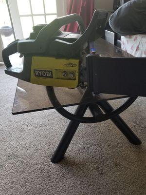 Ryobi gas chainsaw for Sale in Hyattsville, MD