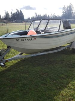 1996 lowes Fish and Ski riveted aluminum for Sale in Oregon City,  OR