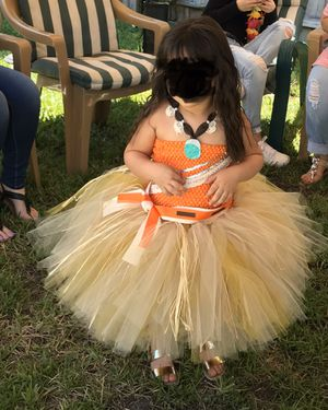 Custom Moana costume - 3T - 5T for Sale in Pembroke Park, FL