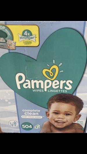 Pamper wipes for Sale in Chula Vista, CA
