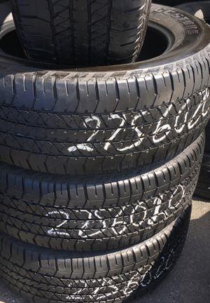 275 60 20 son cuatro Bridgestone 65 cada una instalación for Sale in Vernon, CA
