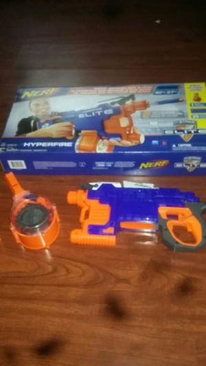 Nerf Elite hyperfire gun for Sale in Columbus, OH