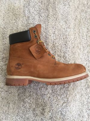 Timberland Men's 6-inch Premium Waterproof Boots (Size 10.5) for Sale in Corona, CA